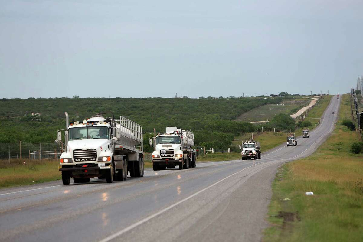 Texas 72, which is 111 miles long and serves oil field boom towns, has been the site of 21 fatal accidents since 2011 - four of which involved multiple deaths.
