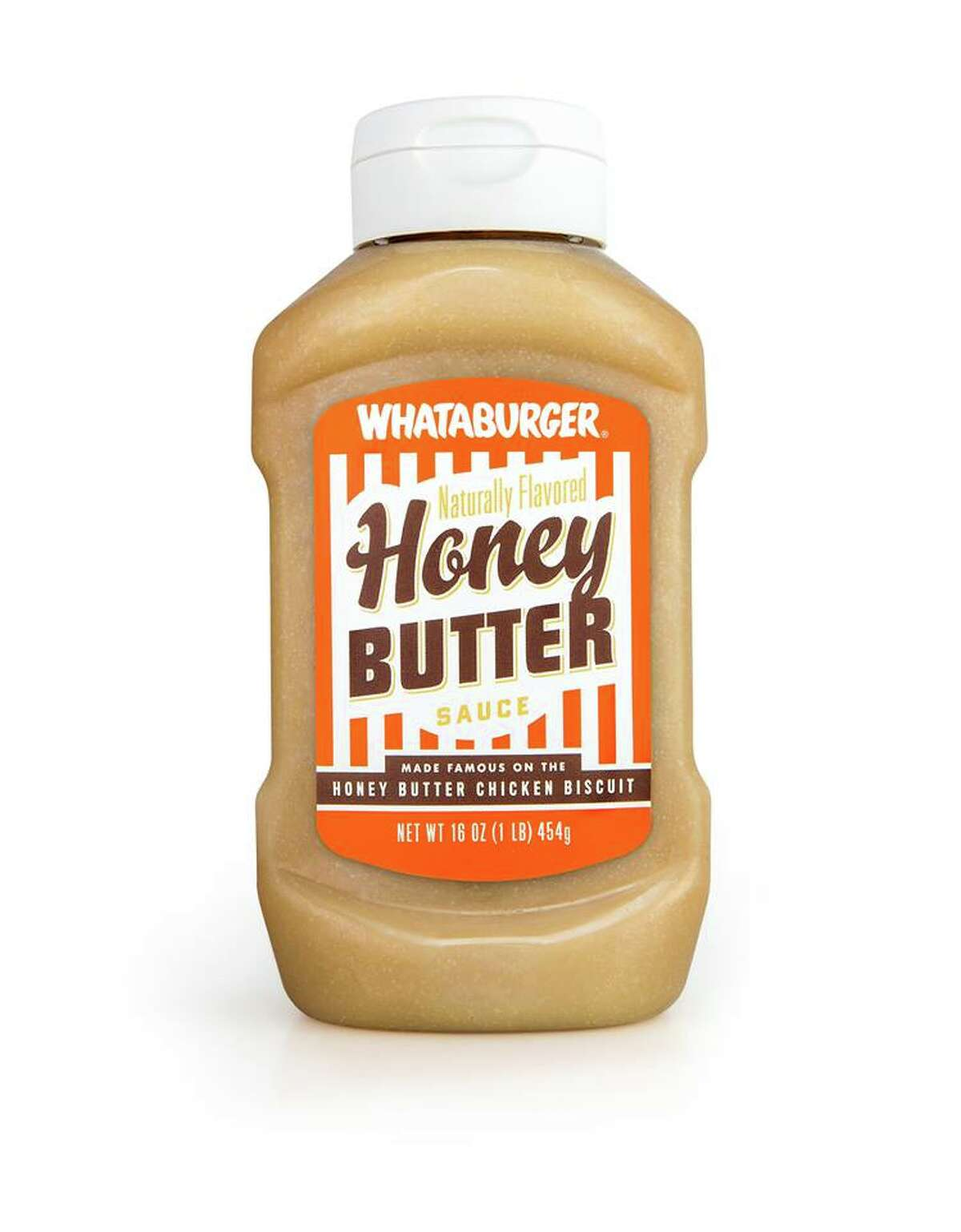 Whataburger Honey Butter Available in H-E-B stores statewide.