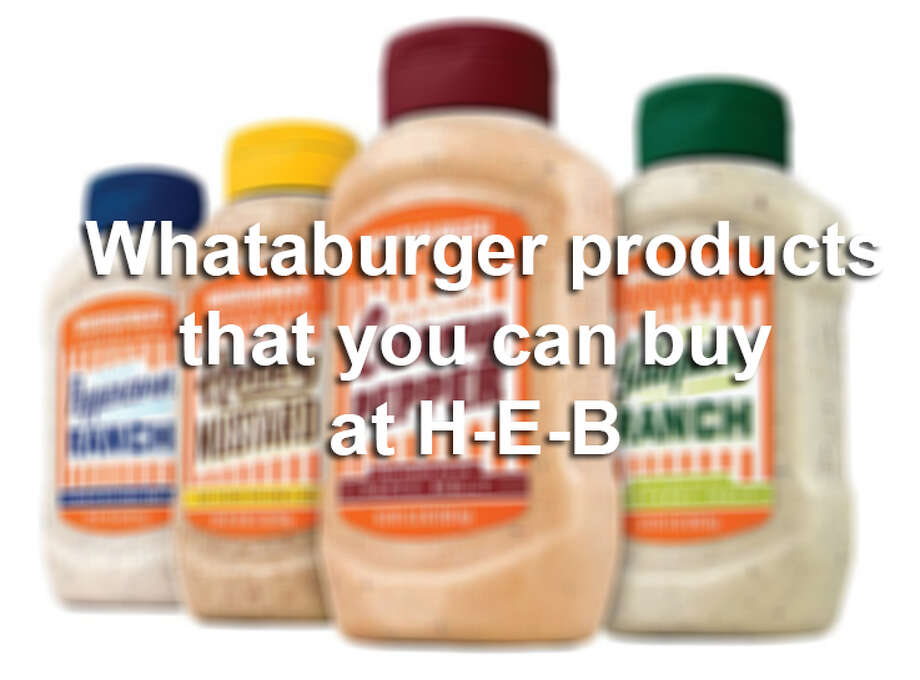 We'd never talk anyone out of a trip to Whataburger, but if you're feeling a hankering for some of Texas' finest fast-food fixins' that you can make at home, check out these Whataburger brand products now at H-E-B. Photo: Courtesy