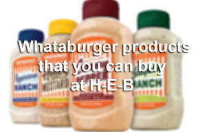 We'd never talk anyone out of a trip to Whataburger, but if you're feeling a hankering for some of Texas' finest fast-food fixins' that you can make at home, check out these Whataburger brand products now at H-E-B.