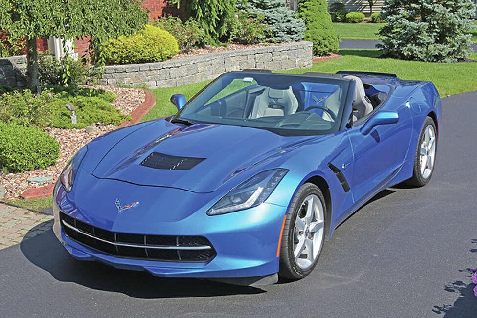2014 Chevrolet Corvette Stingray Convertible (photo © Dan Lyons - All rights reserved)