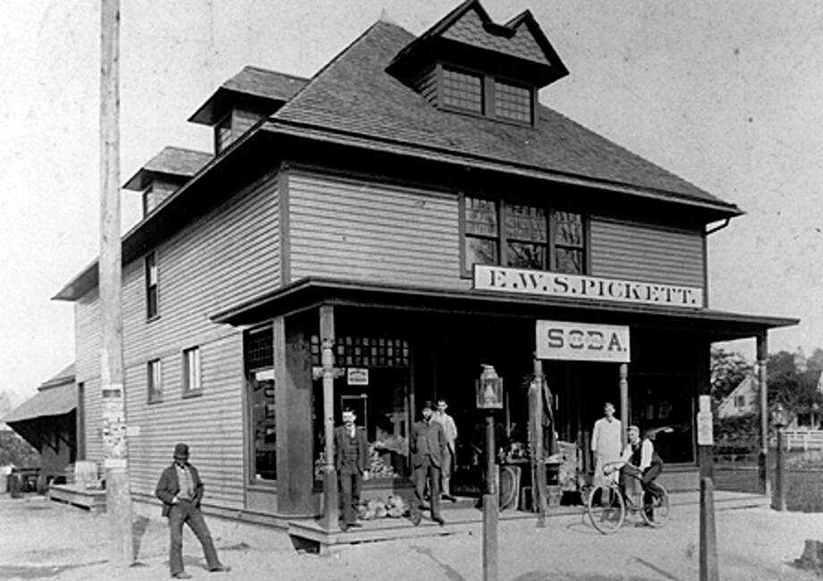 The E.W.S. Pickett grocery business grew by delivering its wares. Photo courtesy of the Fairfield Museum and History Center. Photo: Contributed Photo / Fairfield Citizen