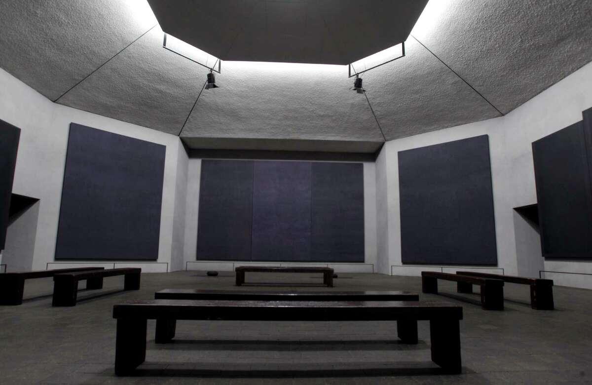 Rothko Chapel, 1409 Sul Ross, shown Tuesday, Dec. 13, 2011, in Houston had its 40 anniversary this year. ( Melissa Phillip / Houston Chronicle )