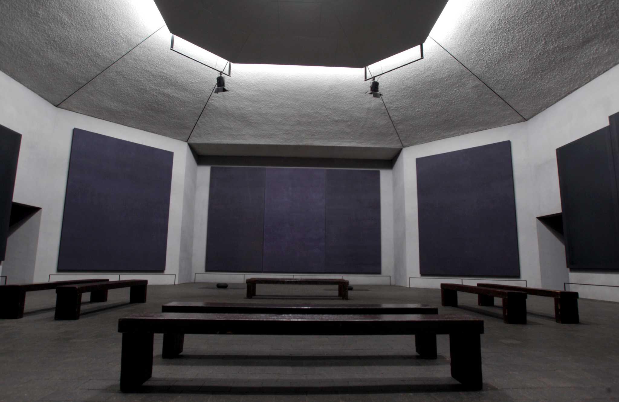 Rothko Chapel Black Paintings