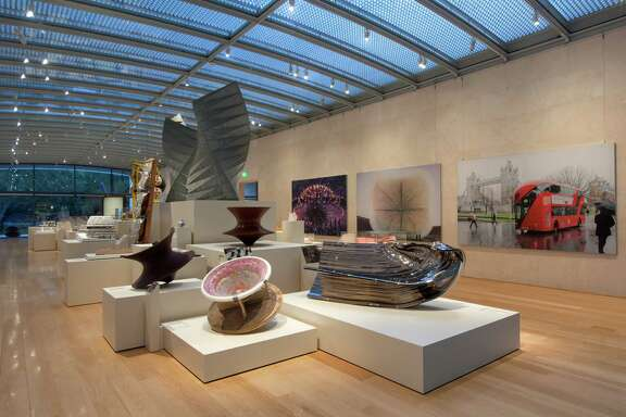 """A view of """"Heatherwick Studio: Provocations,"""" which is on view at the Nasher Sculpture Center through Jan. 4."""