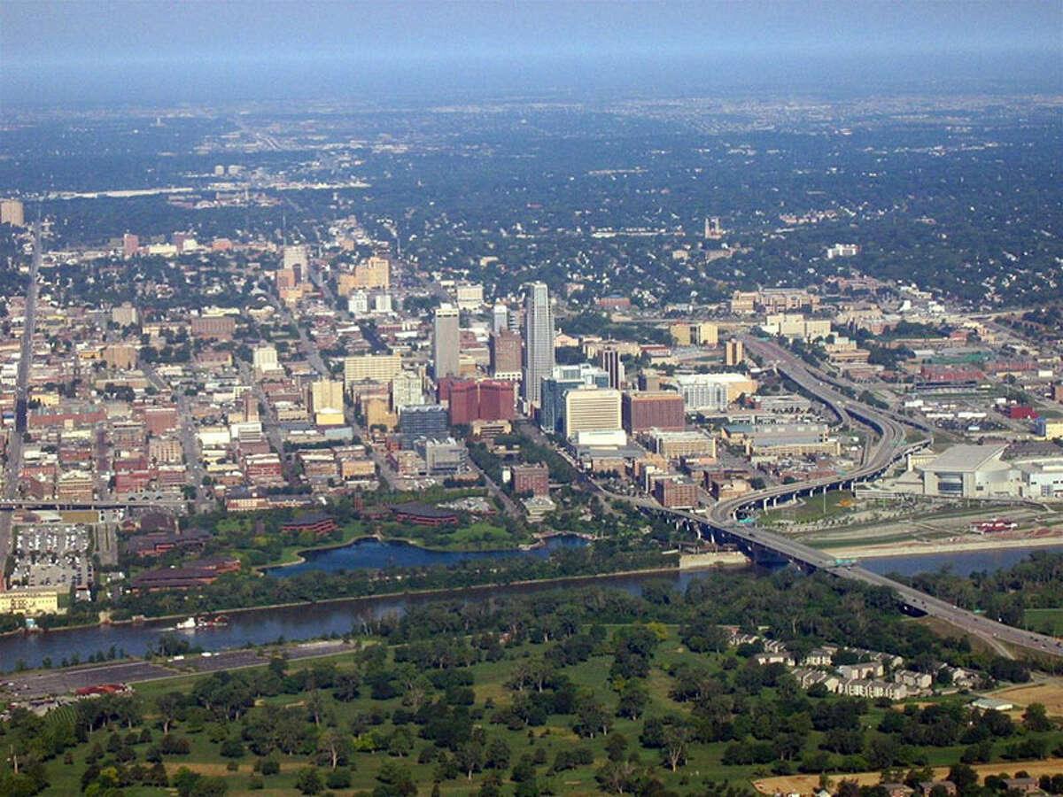 10. Omaha, Nebraska Cost of living: 12.8% below U.S. averageCity population: 434,353Median household income: $46,978Unemployment rate: 3.9%Source: kiplinger.com