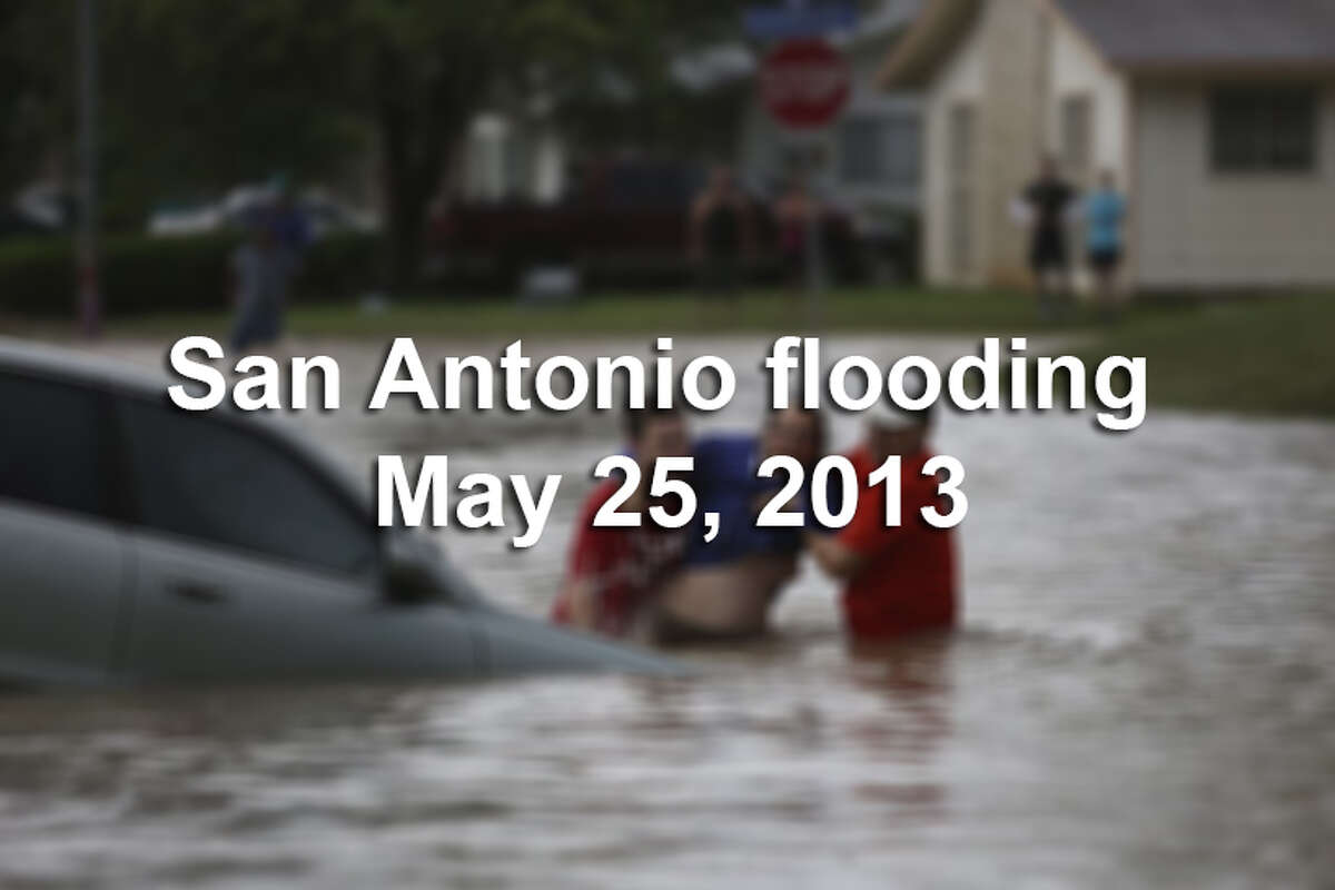 A flood-monitoring software package developed and used in Europe has been installed in San Antonio to help emergency responders plan for and react to life-threatening storms. Here are images of San Antonio's last major flood.