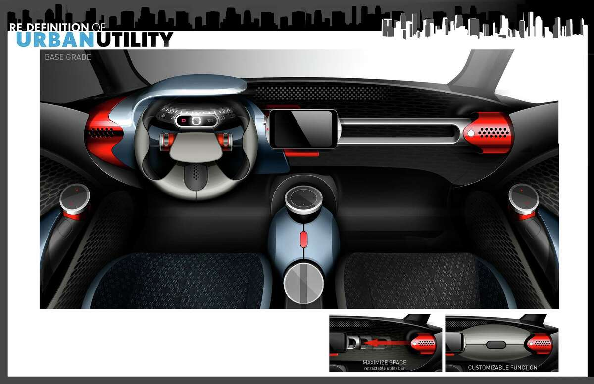 Toyota unveiled its concept car Urban Utility, or U^2, Sept. 10, 2014, that offers a look into the future of technology for the next generation of automobiles and consumers.