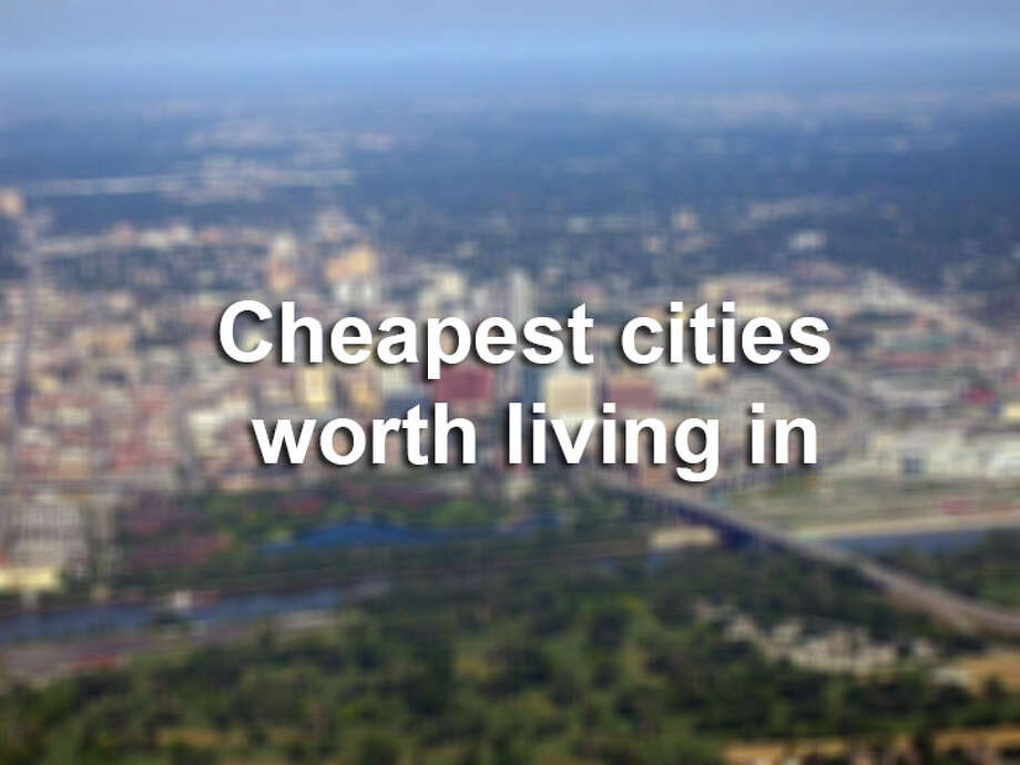 The cheapest cities aren't the best places to live, butkiplinger.com, a finance website, developed the cheapest cities in the country that are actually worth living in, based on economic health and affordability.