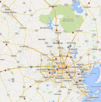 Distance between San Antonio, TX and Houston, TX