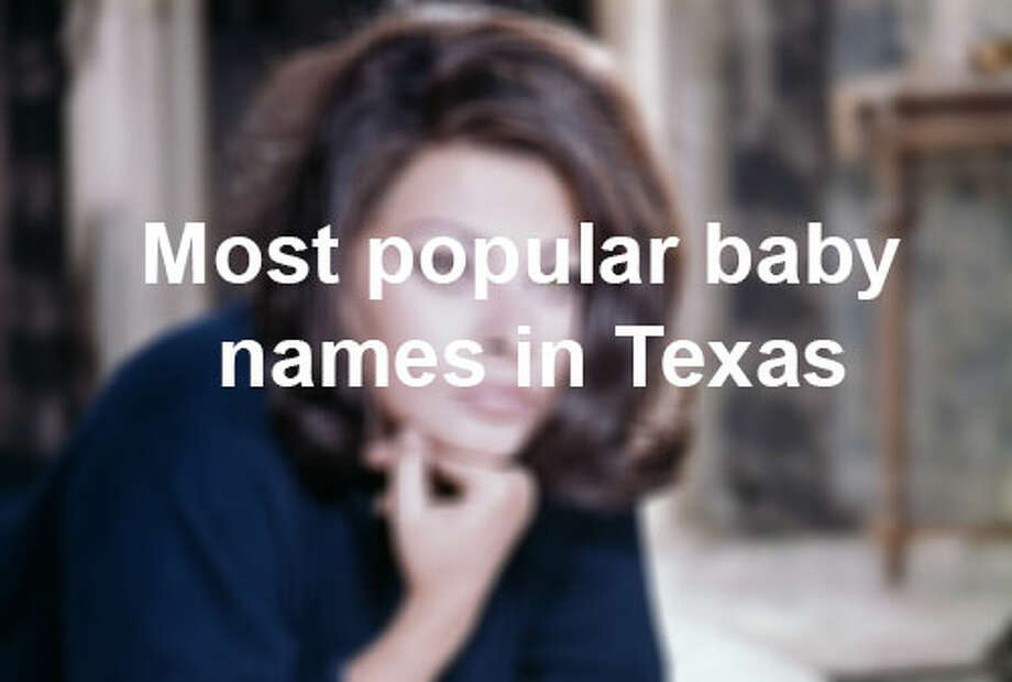 Here's a look at the Social Security Administration' list of most popular baby names for 2012, according to the Houston Chronicle.
