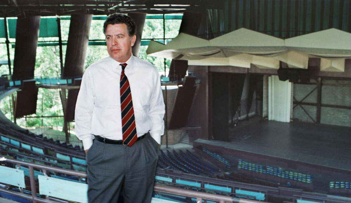 SPAC president Herb Chesbrough Monday, July 1, 1996, at SPAC in Saratoga Springs, N.Y. (Tim Cahill/Times Union archive)