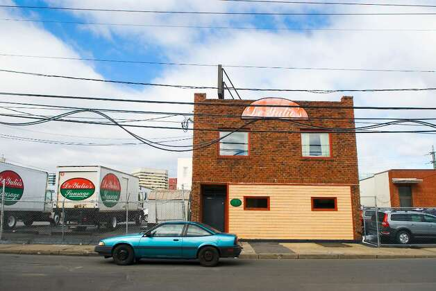 Deyulio's Sausage Company on Myrtle Avenue may be taken by the city in an eminent domain case in Stamford, Conn. on Friday, Feb. 19,  2010. Photo: Kathleen O'Rourke / Stamford Advocate
