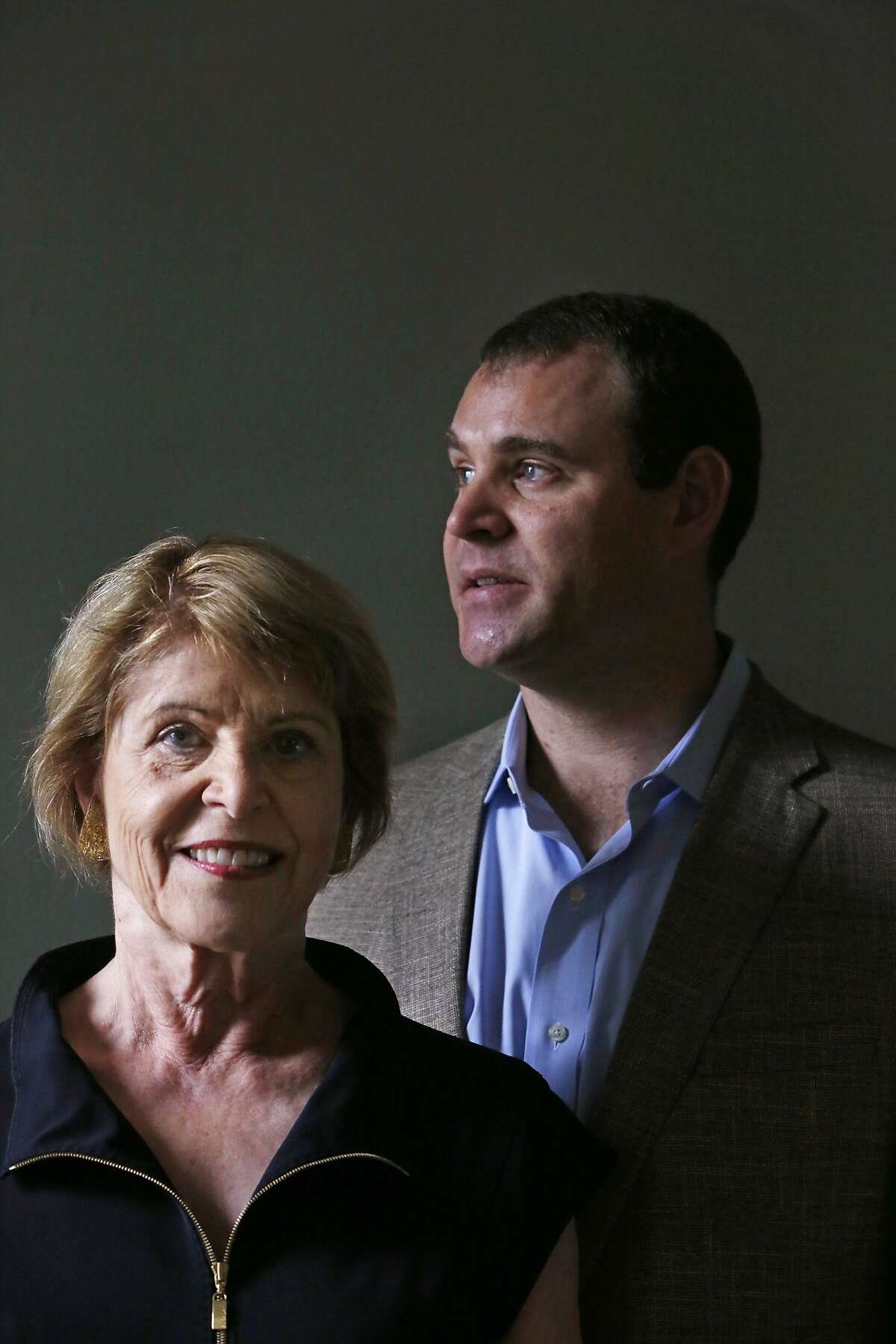 Dagmar Dolby (l to r), wife of late Ray Dolby, and David Dolby, son of the late Ray Dolby, are seen at California Pacific Medical Center's Brain Health Center on Monday, September 15, 2014 in San Francisco, Calif. The family of Ray Dolby, the founder of S.F. audio giant Dolby Labs who died after a battle with Alzheimer's in 2013, are donating $21 million to the California Pacific Medical Center.