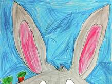 "Our Cartoonist of the Week is 9-year-old Peter Kilgallen, who attends New Lebanon School.  Peter likes to draw a lot of cartoon characters, but his favorite is Bugs Bunny.  Instructor Phil Lohmeyer chose Peter's drawing of Bugs because he captured a great facial expression and created a vivid, layered background with colored pencils.  Peter tells other young artists, ""Try to blend your colors together when cartooning!""  Besides cartooning, Peter likes learning about the artwork of Pablo Picasso. Peter took part in a recent workshop at Byram Schubert Library entitled ""Cartoons in Color,"" which was free to all participants.  The program is run by Lohmeyer (philliplohmeyer@yahoo.com), an artist from Cos Cob who teaches group lessons at the Eastern Greenwich Civic Center (203-637-4583) and private lessons at Jack Dog Studio on Greenwich Avenue (203-570-6870)."