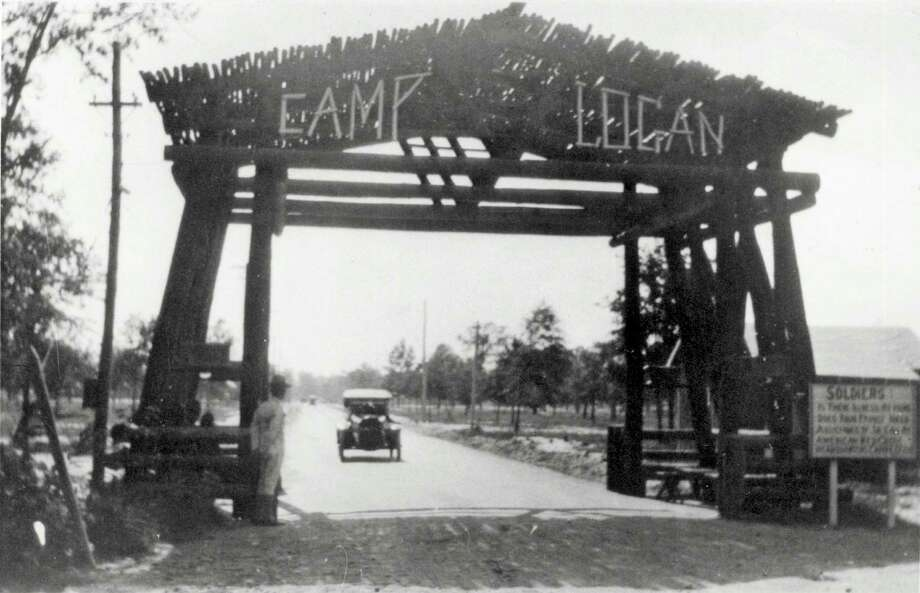 Camp Logan was a U.S. Army camp situated on land that now is Memorial Park. / handout