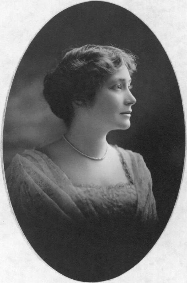 """Ima Hogg (July 10th 1882- August 19th 1975)Ima Hogg is known as the """"First Lady of Texas."""" She is the only daughter of Texas governor, """"Big Jim"""" Hogg. She donated her home """"Bayou Bend"""" to the Museum of Fine Arts Houston, which is open for tours. She also helped establish the Houston Symphony, the Houston Child Guidance Center, and served on the Houston School Board. / handout web"""