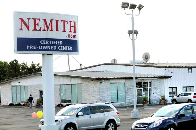 Nemith auto dealer closed on Wednesday, Sept. 17, 2014, in Latham, N.Y. (Cindy Schultz / Times Union) Photo: Cindy Schultz / 00028676A