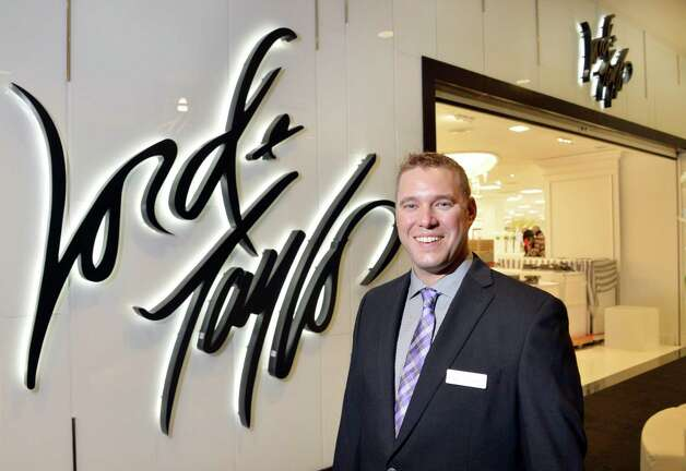 General manager Gregory Towe at the new Lord & Taylor store in Crossgates Mall Wednesday Sept. 17, 2014, in Guilderland, NY. (John Carl D'Annibale / Times Union) Photo: John Carl D'Annibale / 00028490A