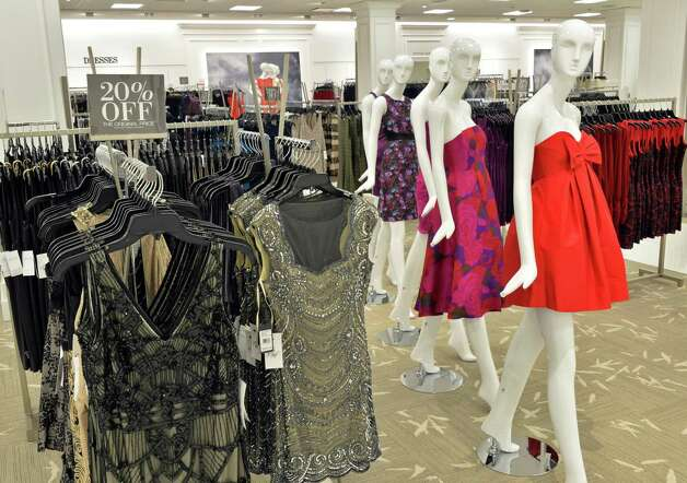Dresses at the new Lord & Taylor store in Crossgates Mall Wednesday Sept. 17, 2014, in Guilderland, NY. (John Carl D'Annibale / Times Union) Photo: John Carl D'Annibale / 00028490A