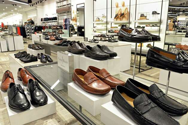 Men's shoes at the new Lord & Taylor store in Crossgates Mall Wednesday Sept. 17, 2014, in Guilderland, NY. (John Carl D'Annibale / Times Union) Photo: John Carl D'Annibale / 00028490A