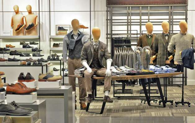 Men's department display at the new Lord & Taylor store in Crossgates Mall Wednesday Sept. 17, 2014, in Guilderland, NY. (John Carl D'Annibale / Times Union) Photo: John Carl D'Annibale / 00028490A