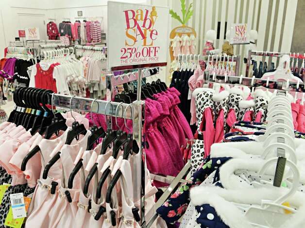 Children's clothing at the new Lord & Taylor store in Crossgates Mall Wednesday Sept. 17, 2014, in Guilderland, NY. (John Carl D'Annibale / Times Union) Photo: John Carl D'Annibale / 00028490A