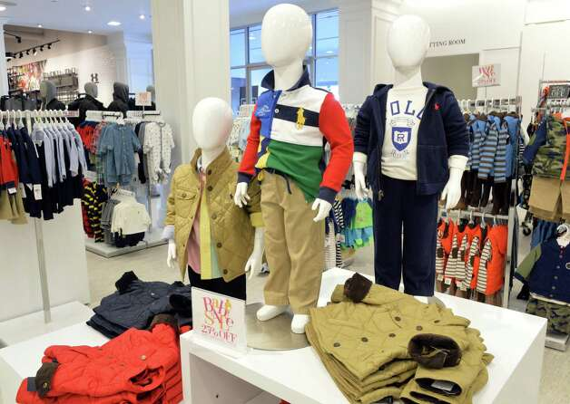 Children's wear at the new Lord & Taylor store in Crossgates Mall Wednesday Sept. 17, 2014, in Guilderland, NY. (John Carl D'Annibale / Times Union) Photo: John Carl D'Annibale / 00028490A