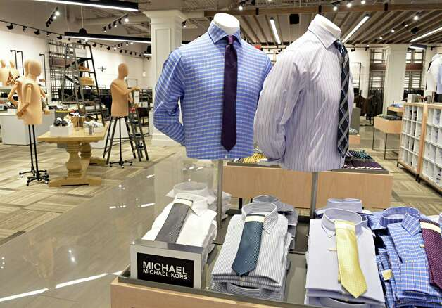 Men's department at the new Lord & Taylor store in Crossgates Mall Wednesday Sept. 17, 2014, in Guilderland, NY. (John Carl D'Annibale / Times Union) Photo: John Carl D'Annibale / 00028490A