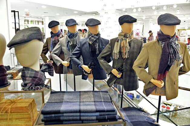 Display in the men's department at the new Lord & Taylor store in Crossgates Mall Wednesday Sept. 17, 2014, in Guilderland, NY. (John Carl D'Annibale / Times Union) Photo: John Carl D'Annibale / 00028490A