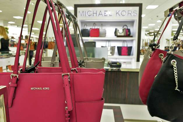 Women's hand bags at the new Lord & Taylor store in Crossgates Mall Wednesday Sept. 17, 2014, in Guilderland, NY. (John Carl D'Annibale / Times Union) Photo: John Carl D'Annibale / 00028490A