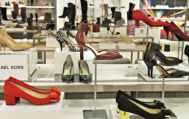 Women's shoes at the new Lord & Taylor store in Crossgates Mall Wednesday Sept. 17, 2014, in Guilderland, NY. (John Carl D'Annibale / Times Union) Photo: John Carl D'Annibale / 00028490A