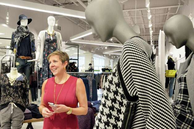 Executive VP of stores Eileen Dileo at their new Lord & Taylor store in Crossgates Mall Wednesday Sept. 17, 2014, in Guilderland, NY. (John Carl D'Annibale / Times Union) Photo: John Carl D'Annibale / 00028490A