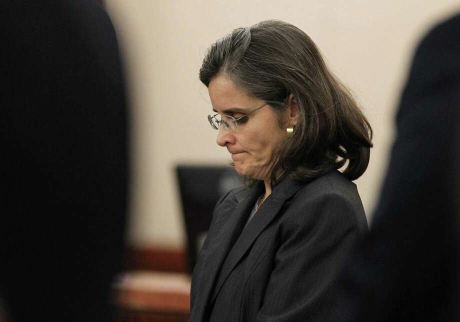 Dr. Ana Maria Gonzalez-Angulo, on trial for assault, is accused of poisoning her lover, another oncologist at the University of Texas M.D. Anderson Cancer Center. If convicted, she could receive life in prison. Photo: Gary Coronado, Staff / © 2014 Houston Chronicle