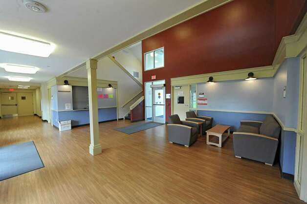 Interior of SUNY Cobleskill's new, apartment-style housing complex, Alumni Commons on Wednesday, Sept. 17, 2014 in Cobleskill, N.Y. (Lori Van Buren / Times Union) Photo: Lori Van Buren / 10028653A