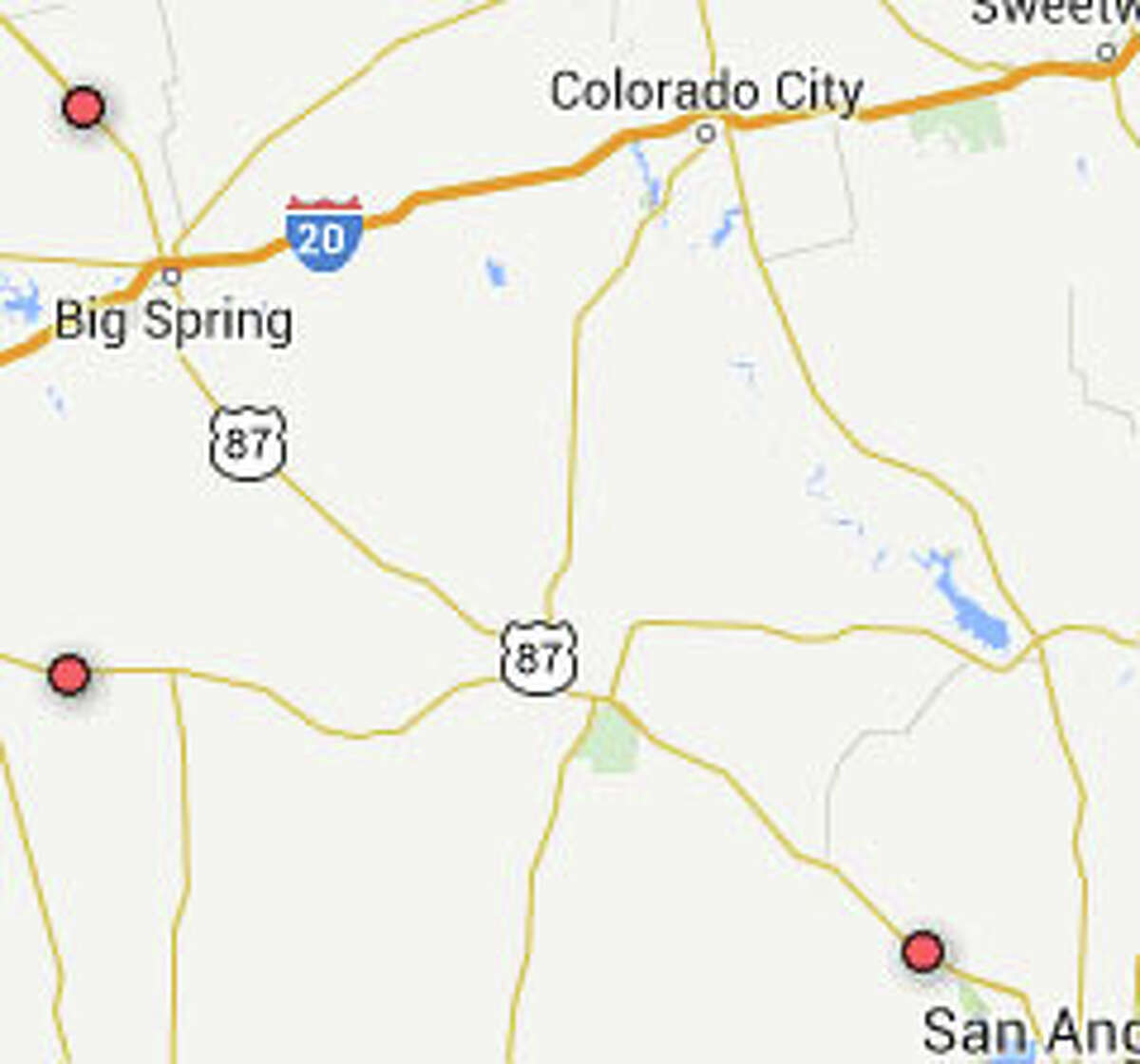 U.S. Highway 87 Rank: 12 (tie)Triple fatalities: Nine killed, two injured in 3 accidentsOverall fatalities 2010-2014: 95 Length: 660 miles
