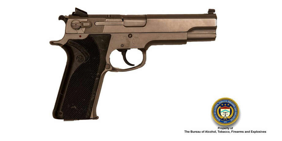 A pistol similar to the one federal prosecutors claim Michael Joanen tried to sell to an undercover police officer. ATF photo.