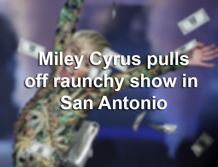 Flashback Miley Cyrus Pulls Off Raunchy S A Show San