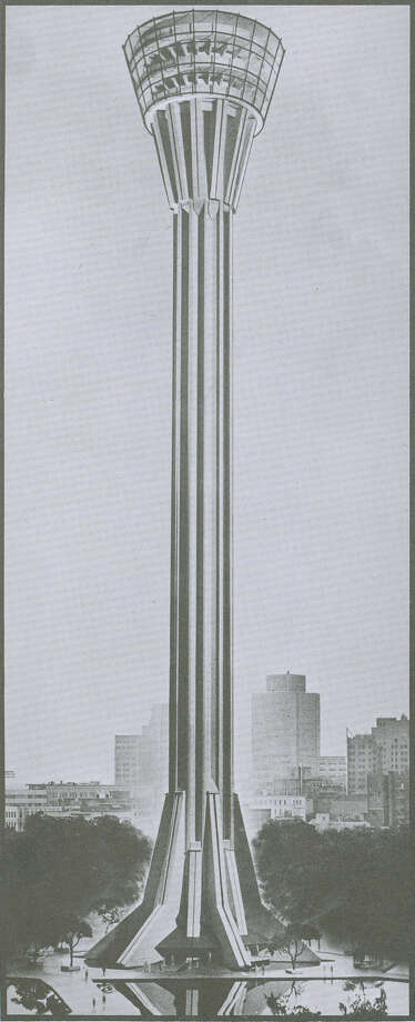 An alternative rendering by Tower of the Americas designer O'Neil Ford. Photo: Courtesy Image