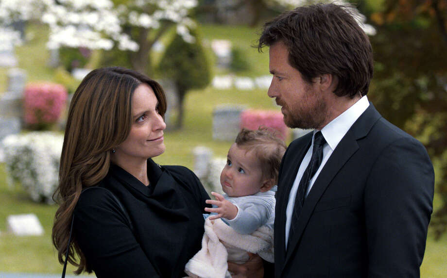 """Tina Fey and Jason Bateman play brother and sister in the comedy, """"This Is Where I Leave You."""" Photo: Courtesy Of Warner Bros. Picture / Associated Press / Warner Bros. Pictures"""