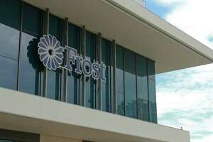 The new Frost Houston Region Headquarters and Post Oak Financial Center. (For the Chronicle/Gary Fountain, September 17, 2014)