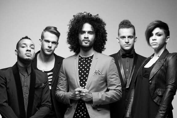 Manwell Reyes, front, says to expect the same high-energy shows of past Group 1 Crew tours.