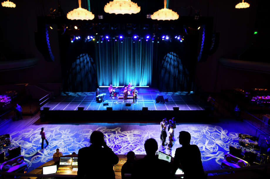 The Jazz Mafia helps usher in a new era at the Masonic auditorium on Nob Hill after Live Nation unveiled its renovations. Photo: TIM HUSSIN, Freelance / Special To The Chronicle / ONLINE_YES
