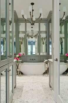Fresh looks for bathrooms san antonio express news for Bathroom mirrors san antonio