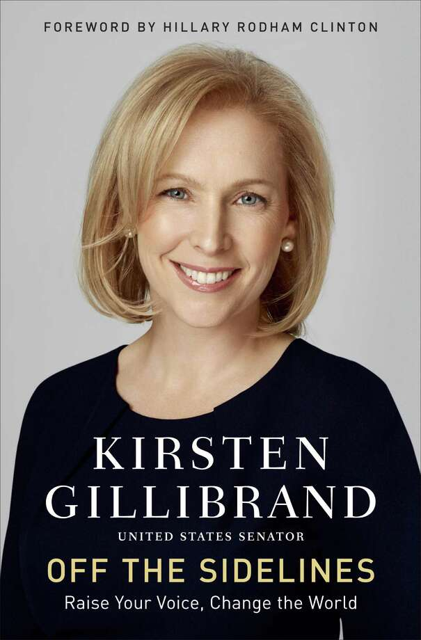 "This book cover image released by Ballantine Books  shows ""Off the Sidelines: Raise Your Voice, Change the World,"" by Kirsten Gillibrand. (AP Photo/Ballantine Books ) ORG XMIT: NYET119 / Ballantine Books"