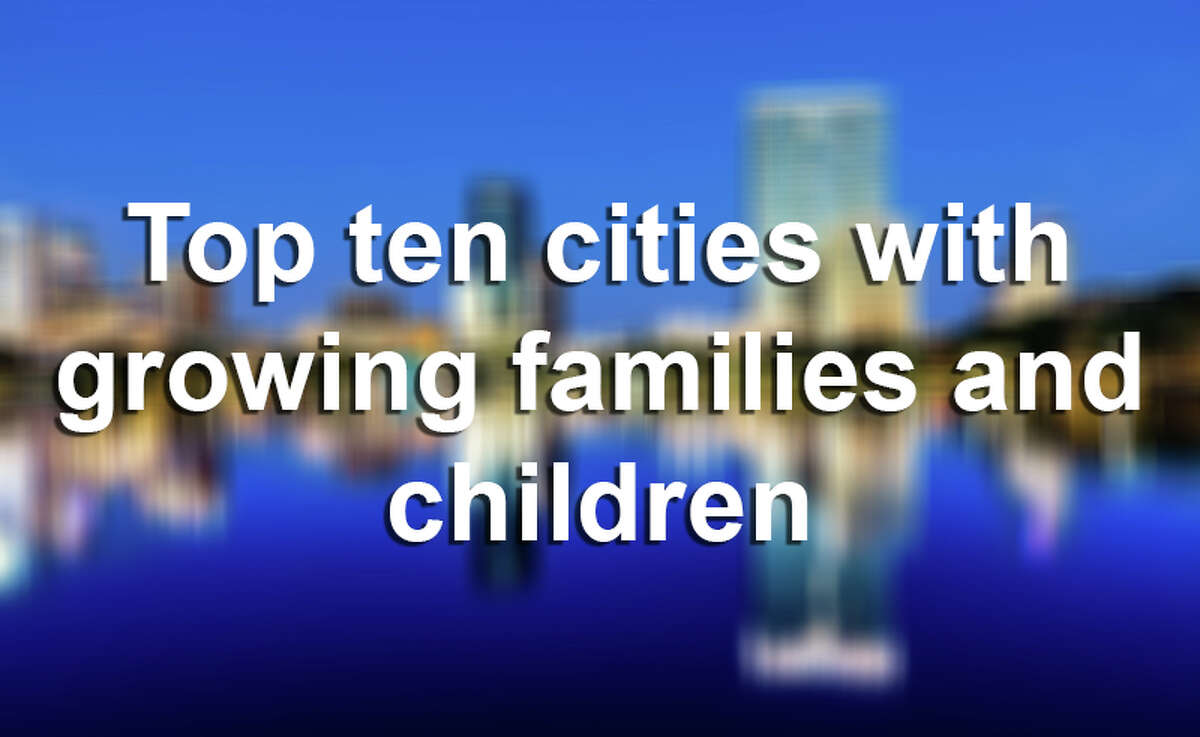 Here are the top ten U.S. cities with the fastest growing population of families and children, according to Forbes.