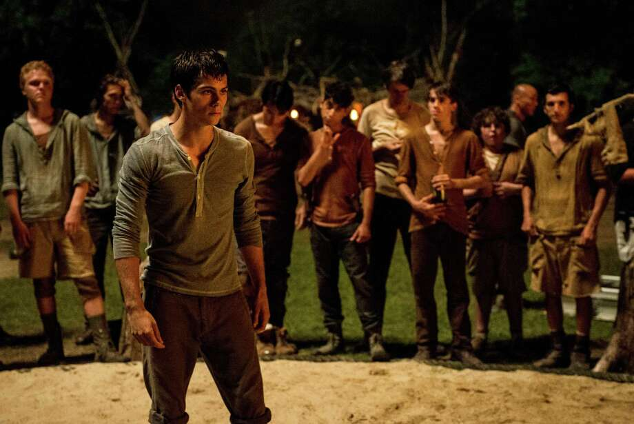 "In this image released by 20th Century Fox, Dylan O'Brien, foreground, appears in a scene from ""The Maze Runner."" (AP Photo/20th Century Fox, Ben Rothstein) ORG XMIT: NYET141 Photo: Ben Rothstein / 20th Century Fox"