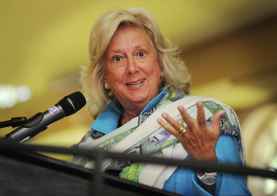 Former chief of New York's Sex Crimes Prosecution Unit Linda Fairstein delivers the keynote address at The Center for Family Justice's 17th annual Speaking of Women luncheon at The Waterview in Monroe, Conn. on Thursday, September 18, 2014. Photo: Brian A. Pounds / Connecticut Post