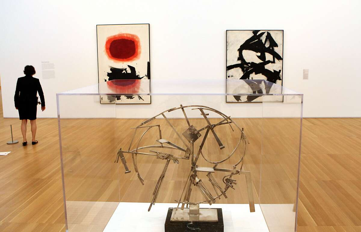 A David Smith sculpture and Franz Kline painting are among the key works collected by the Peninsula's Anderson family.