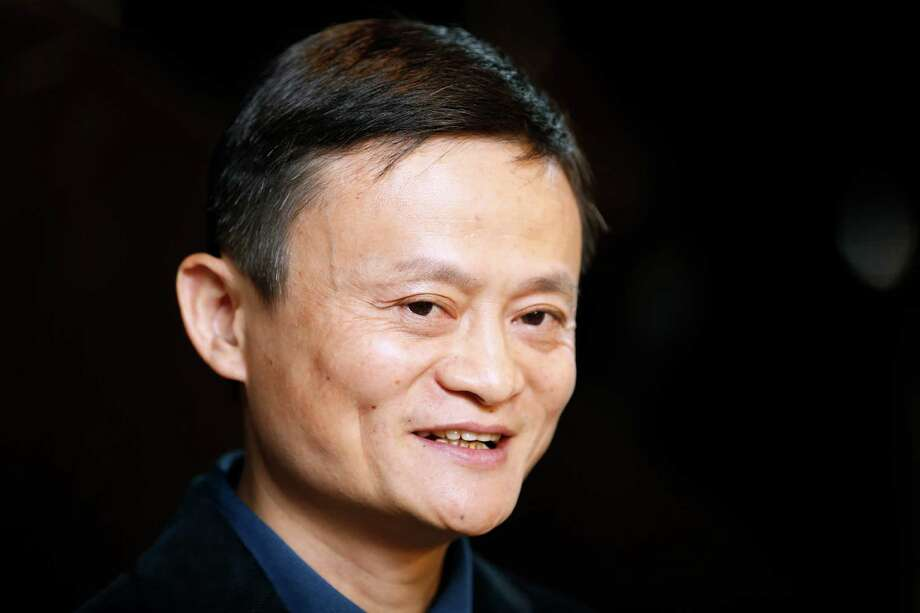 Bloomberg Photo Service 'Best of the Week': Billionaire Jack Ma, chairman of Alibaba Group Holding Ltd., speaks to members of the media after arriving for a meeting at the Ritz-Carlton hotel in Hong Kong, China, on Monday, Sept. 15, 2014. Alibaba, the e-commerce company whose fortunes surged along with China's economy, plans a historic U.S. initial public offering that may also claim the global record. Photographer: Brent Lewin/Bloomberg *** Local Caption *** Jack Ma Photo: Brent Lewin / © 2014 Bloomberg Finance LP